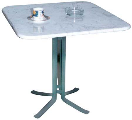 Square maarble table